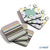 Pimpernel 'Atrium - Floret & Geo' Coaster 10.5x10.5cm (set of 6)