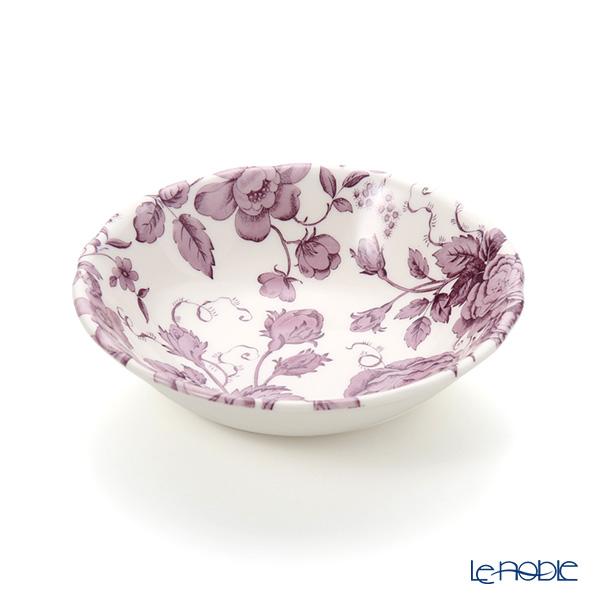 Spode 'Kingsley' White & Purple Cereal Bowl 18cm