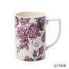 Spode 'Kingsley' White & Purple Mug 350ml