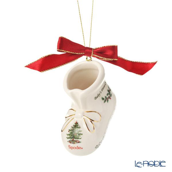 スポード クリスマスツリー Babys First Christmas オーナメント ブーツ 19W