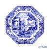 Spod 'Blue Italian' Octagonal Plate 24cm