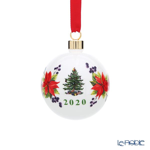 スポード クリスマスツリー オーナメント アニュアルボール 2020 C