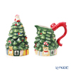 Spode 'Christmas Tree' Sugar Box, Creamer (set of 2)