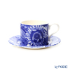 Spodo 'Blue Room Sunflower' Tea Cup & Saucer 280ml