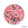 Portmeirion x Sarah Miller London 'Orchard' Coral Pink Plate 20.5cm