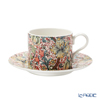 Spode x Morris & Co 'William Morris - Golden Lily' Pastel Tea Cup & Saucer 280ml