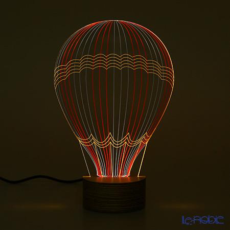 BULBING 3Dアートランプ ホットエアバルーン HotAirBalloon※USB電源仕様(ACアダプターとの併用可能)※