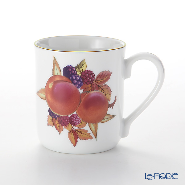 Royal Worcester Evesham Gold Peach Mug 280 cc