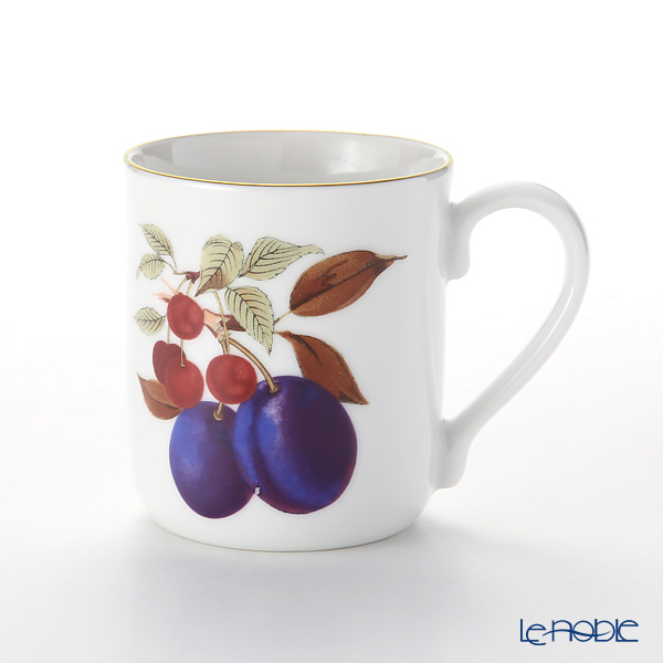 Royal Worcester 'Evesham Gold - Plum' Mug 280ml