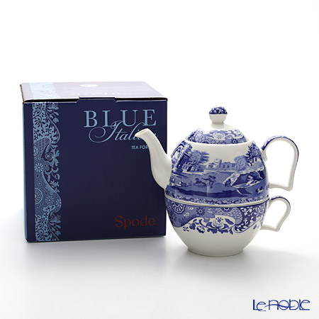 Spode 'Blue Italian' Tea for One (Cup & Pot)