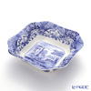 Spode Blue Italian Square Salad Bowl 23.5 cm