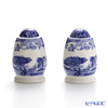 Spode Blue Italian Salt and Papper 7.5 cm