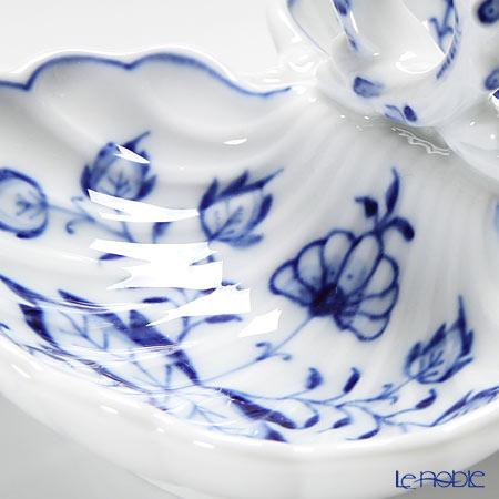 マイセン(Meissen) ブルーオニオン 800101/00204薬味/レモン入れ H5cm/L11.5cm