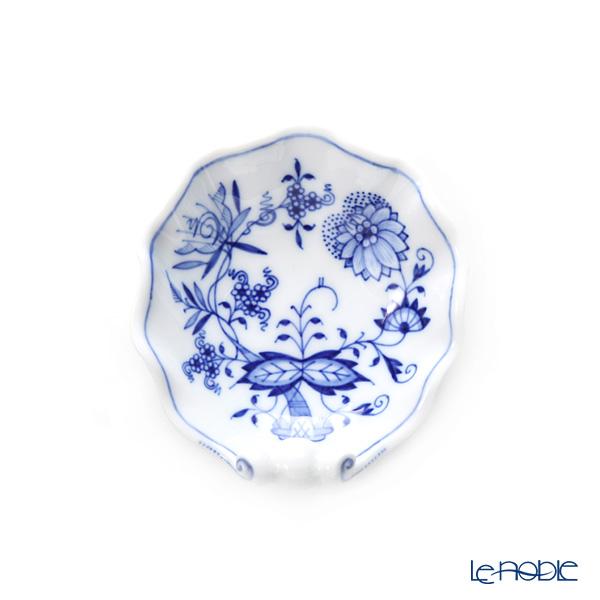 マイセン(Meissen) ブルーオニオン 800101/00208シェルディッシュ 9×9.5cm