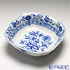 Meissen 'Blue Onion' 800101/00251 Square Bowl 21cm