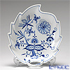 マイセン(Meissen) ブルーオニオン 800101/00265リーフディッシュ 22×19cm