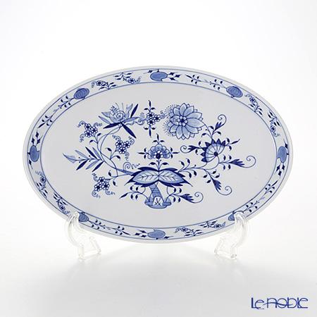 マイセン(Meissen) ブルーオニオン 800101/00291 オーバルトレイ 27cm