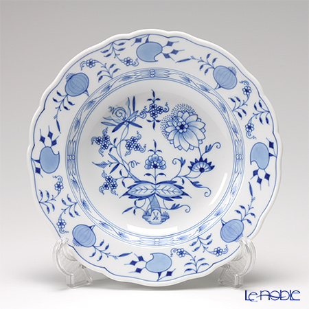 Meissen Blue Onion 800101 / 00488 Soup plate 22 cm
