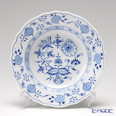 マイセン(Meissen) ブルーオニオン 800101/00488 スーププレート 22cm