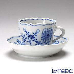 マイセン(Meissen) ブルーオニオン 800101/00580モカカップ&ソーサー