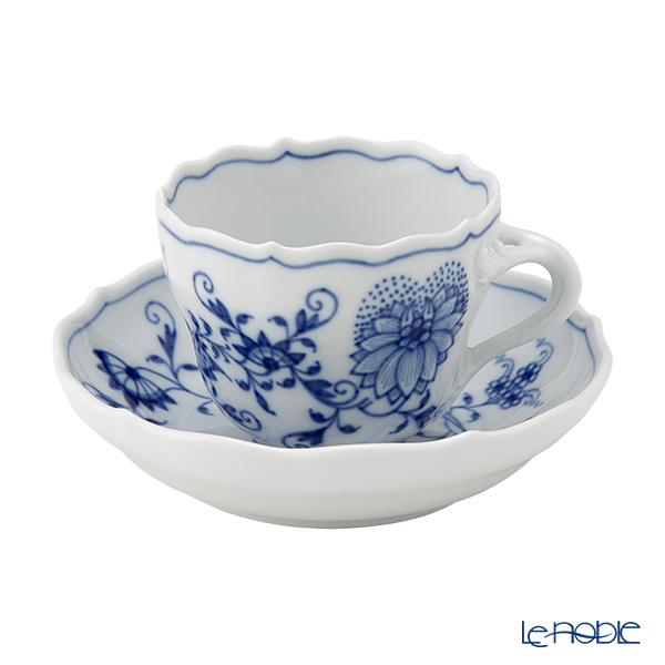 マイセン(Meissen) ブルーオニオン 800101/00580 モカカップ&ソーサー