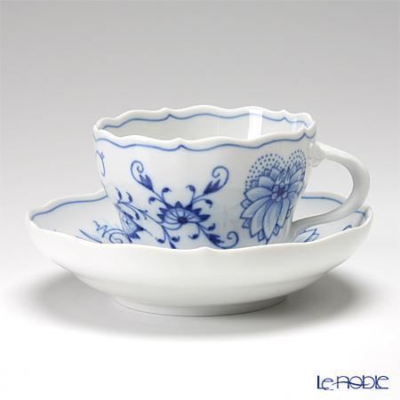 マイセン(Meissen) ブルーオニオン 800101/00582 コーヒーカップ&ソーサー 200cc