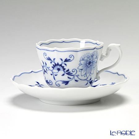 マイセン(Meissen) ブルーオニオン 800101/00583 コーヒーカップ&ソーサー 150cc