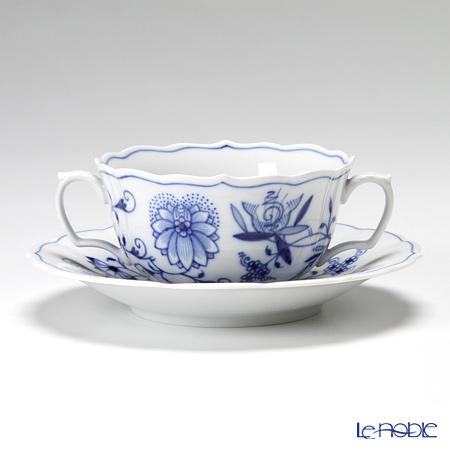 マイセン(Meissen) ブルーオニオン 800101/00653スープカップ&ソーサー