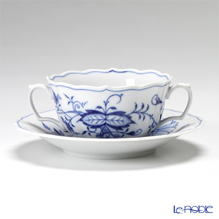 マイセン(Meissen) ブルーオニオン 800101/00653 スープカップ&ソーサー