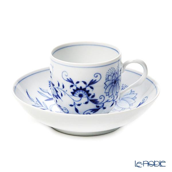 マイセン(Meissen) ブルーオニオン 800101/10582 コーヒーカップ&ソーサー (200cc)