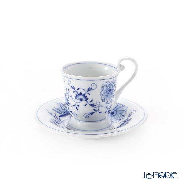 マイセン(Meissen) ブルーオニオン 800101/13582 ホットチョコレートカップ&ソーサー