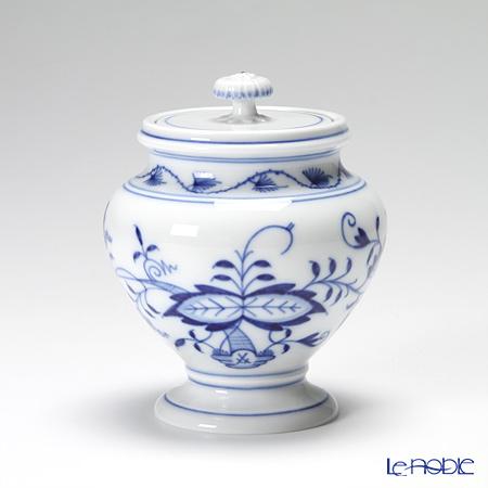 マイセン(Meissen) ブルーオニオン 800101/14823シュガーボックス(足付) 11cm