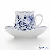 Meissen (Meissen) Blue onion 800101 / 23582 Coffee Cup & Saucer 150 cc