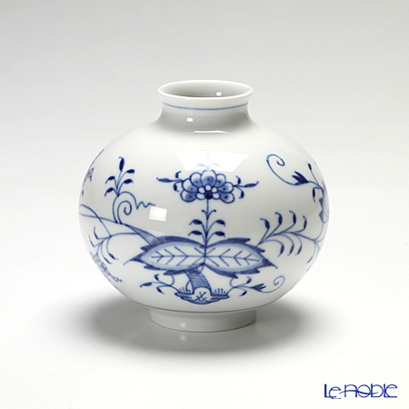 マイセン(Meissen) ブルーオニオン 800101/50121花瓶 10.5cm
