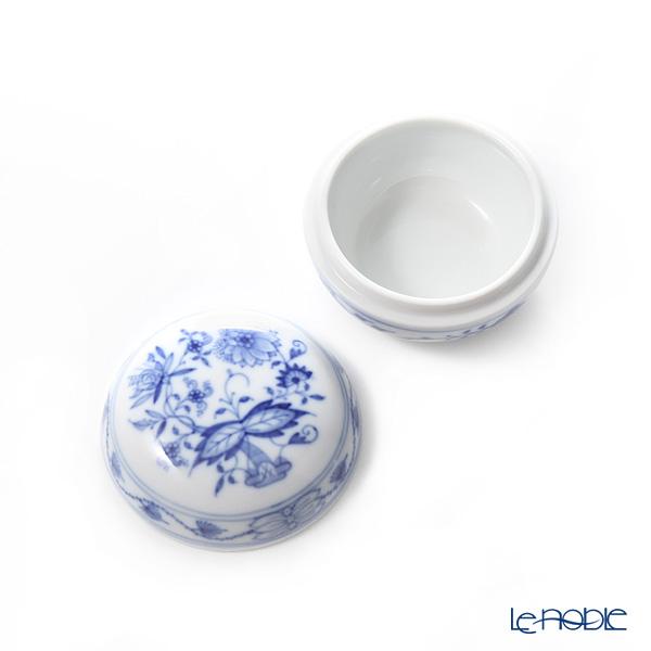 Meissen 'Blue Onion' 800101/52022 Bonbonniere / Round Box 7.7xH5cm