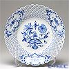 マイセン(Meissen) ブルーオニオン 800101/54804透かし飾り皿 29cm