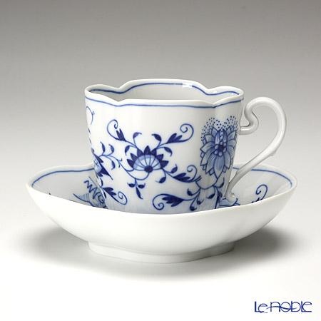 マイセン(Meissen) ブルーオニオン 800101/55864 コーヒーカップ&ソーサー 150cc