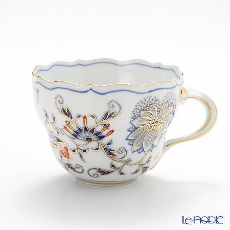 マイセン(Meissen) ブルーオニオン レッド&ゴールド 800117/00582 コーヒーカップ 200cc