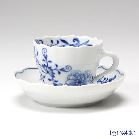 マイセン(Meissen) ブルーオニオン スタイル 801001/00580 モカカップ&ソーサー