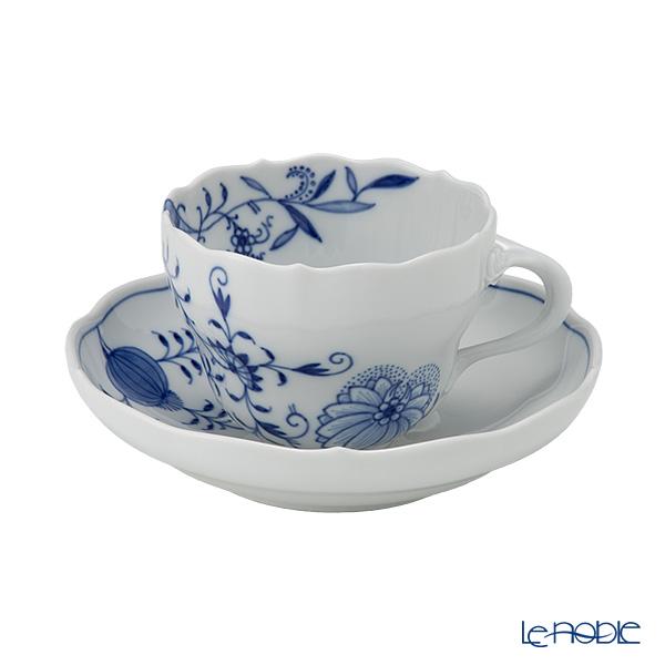 マイセン(Meissen) ブルーオニオン スタイル 801001/00582コーヒーカップ&ソーサー 200cc