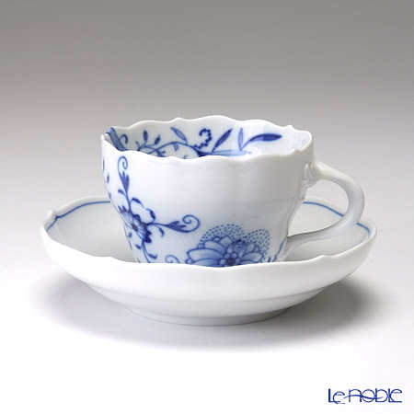 マイセン(Meissen) ブルーオニオン スタイル 801001/00582 コーヒーカップ&ソーサー 200cc