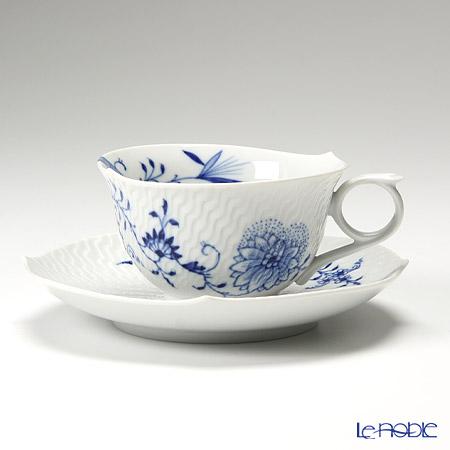 マイセン(Meissen) ブルーオニオン スタイル(ウェーブ) 801001/29633 ティーカップ&ソーサー 170cc