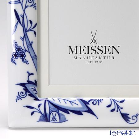 マイセン(Meissen) ブルーオニオン スタイル 53n74/801001ピクチャーフレーム 23×18cm