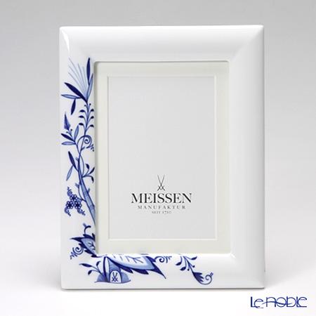 マイセン(Meissen) ブルーオニオン スタイル 53n74/801001 ピクチャーフレーム 23×18cm