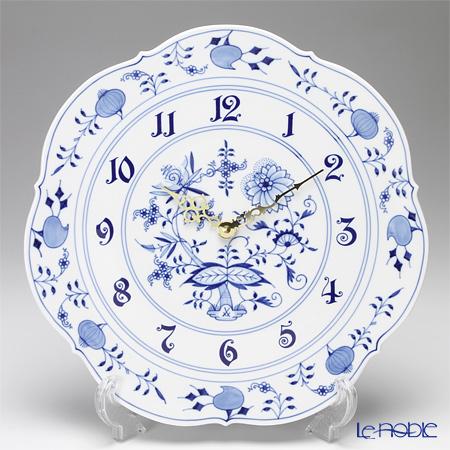 マイセン(Meissen) ブルーオニオン 801801/53m04 掛け時計 30cm