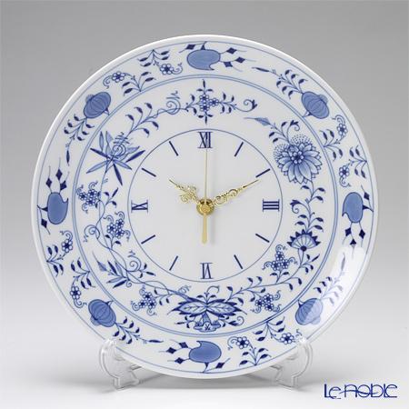マイセン(Meissen) ブルーオニオン 801901/53m72 掛け時計 25.5cm