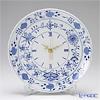 マイセン(Meissen) ブルーオニオン 801901/53m72掛け時計 25.5cm
