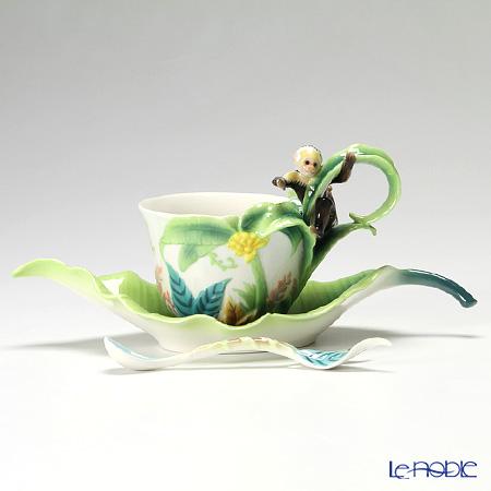 フランツ・コレクション イタズラモンキー カップ&ソーサー スプーン付 FZ02002