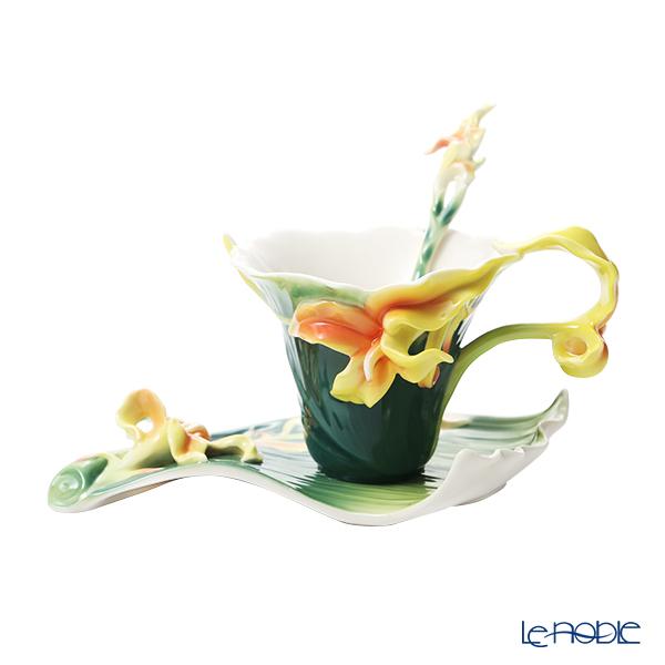 フランツ・コレクション カンナ リリー カップ&ソーサー スプーン付 FZ01813