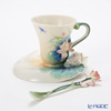 Franz Collection Lotus Harmony porcelain cup/saucer/spoon FZ02187E